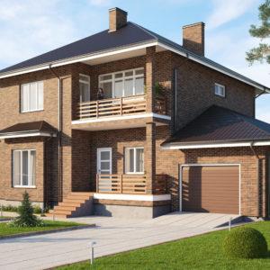 Строительство и отделка частных загородных домов любого типа «под ключ»